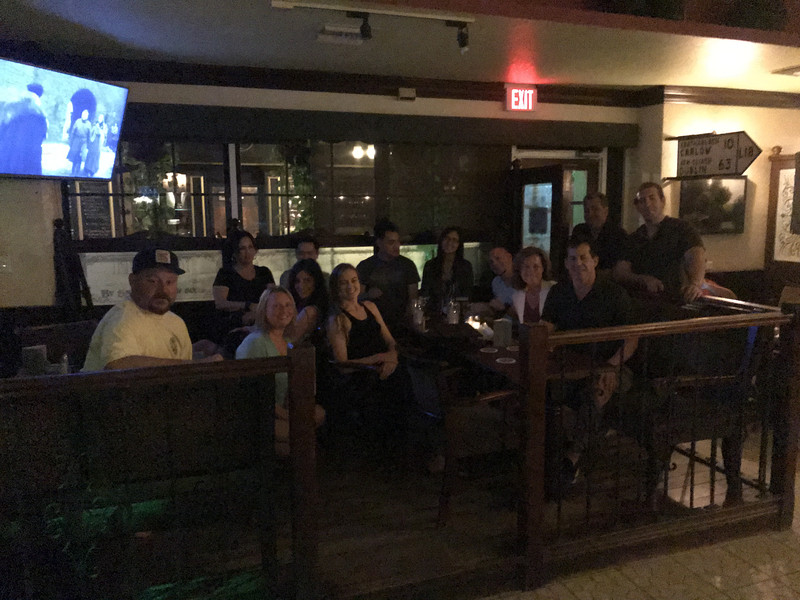Watching Game of Thrones during Grand Cayman dive trip 2019