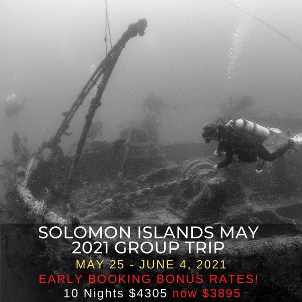 Solomon Islands Group Trip 2021