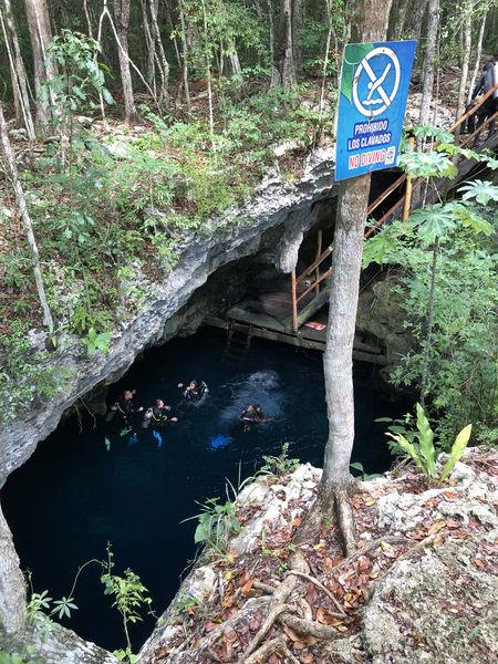 crocs cenotes trip