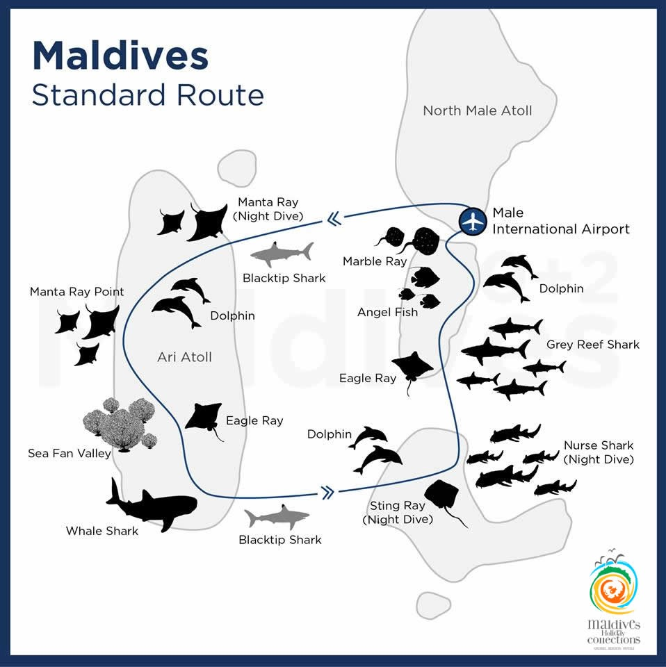 Maldives Collections Best of Maldives Route