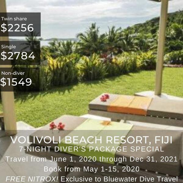 Volivoli Beach Resort Special May 2020