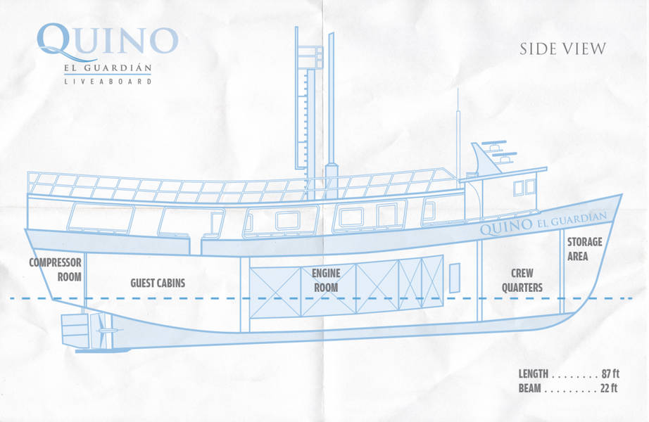 Quino El Guardian Deck Plan