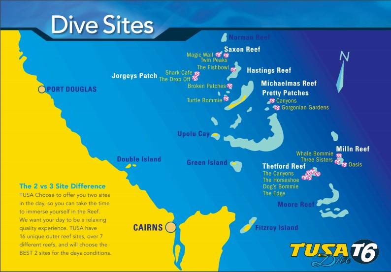 Tusa Dive Cairns