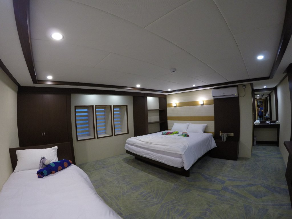 MV Emperor Serenity Maldives Cabin