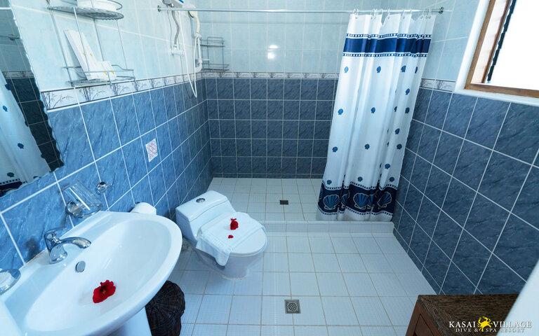Kasai Village's Sea View Bathroom