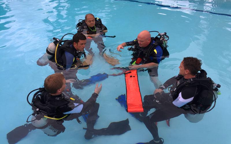 Kasai Village Dive Academy's dive course