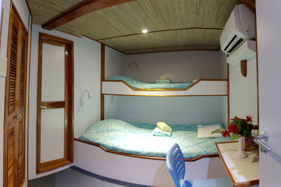 Ocean Hunter III Cabin
