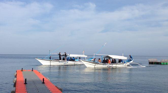 Aiyanar Resort dive boats