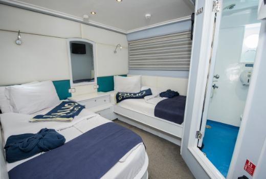 Blue Fin's Twin Cabin