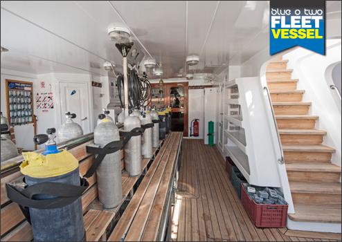 Blue Horizon's dive deck