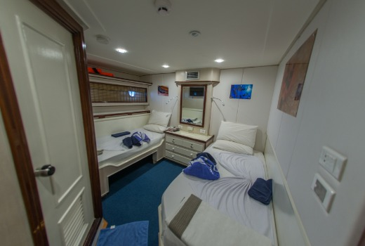 Blue Voyager Twin Cabin