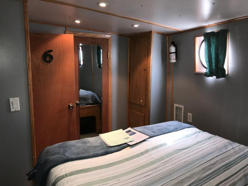 Caribbean Explorer II's lower deck cabin