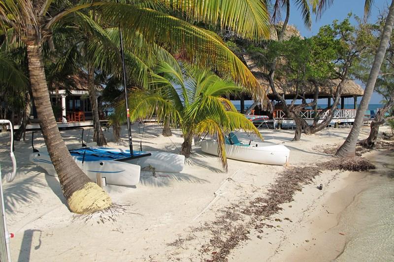 Coco Plum Island Resort beach activity