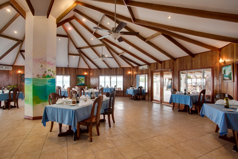 Coco Plum Island Resort's restaurant