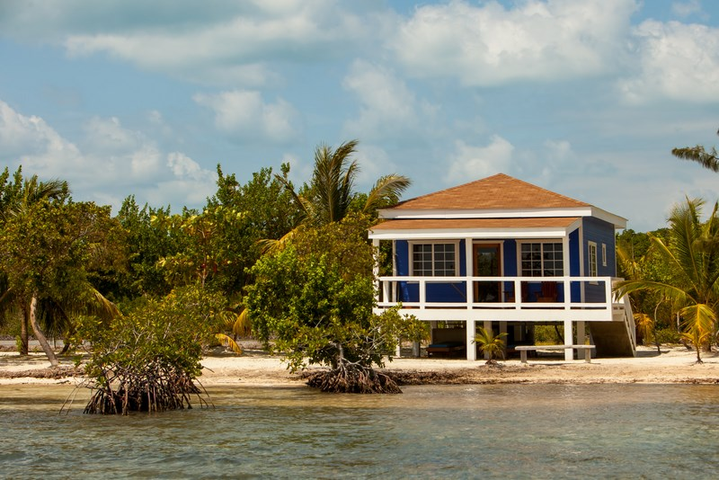Coco Plum Island Resort's suite style cabana