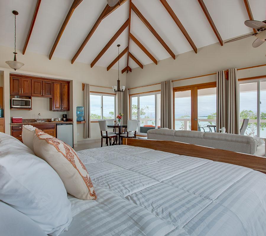 Coco Plum Island Resort's premium suite cabana