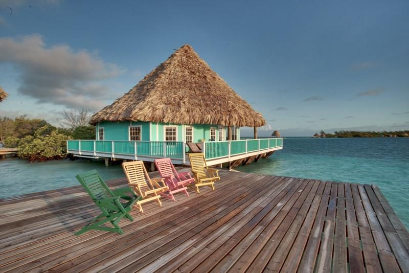 Coco Plum Island Resort's overwater villa