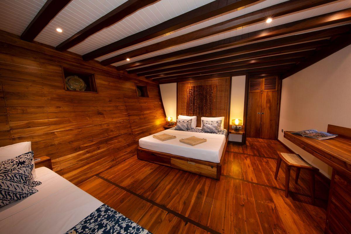 Coralia Liveaboard's Double cabin