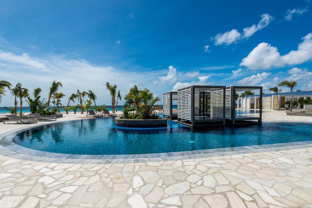 Delfins Beach Resort Bonaire's pool