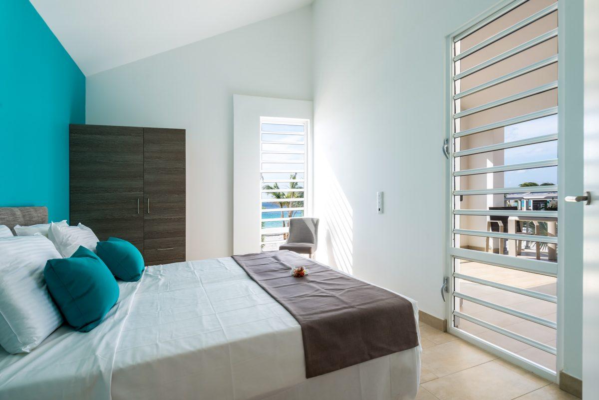 Delfins Beach Resort Bonaire's 1 bedroom apartment