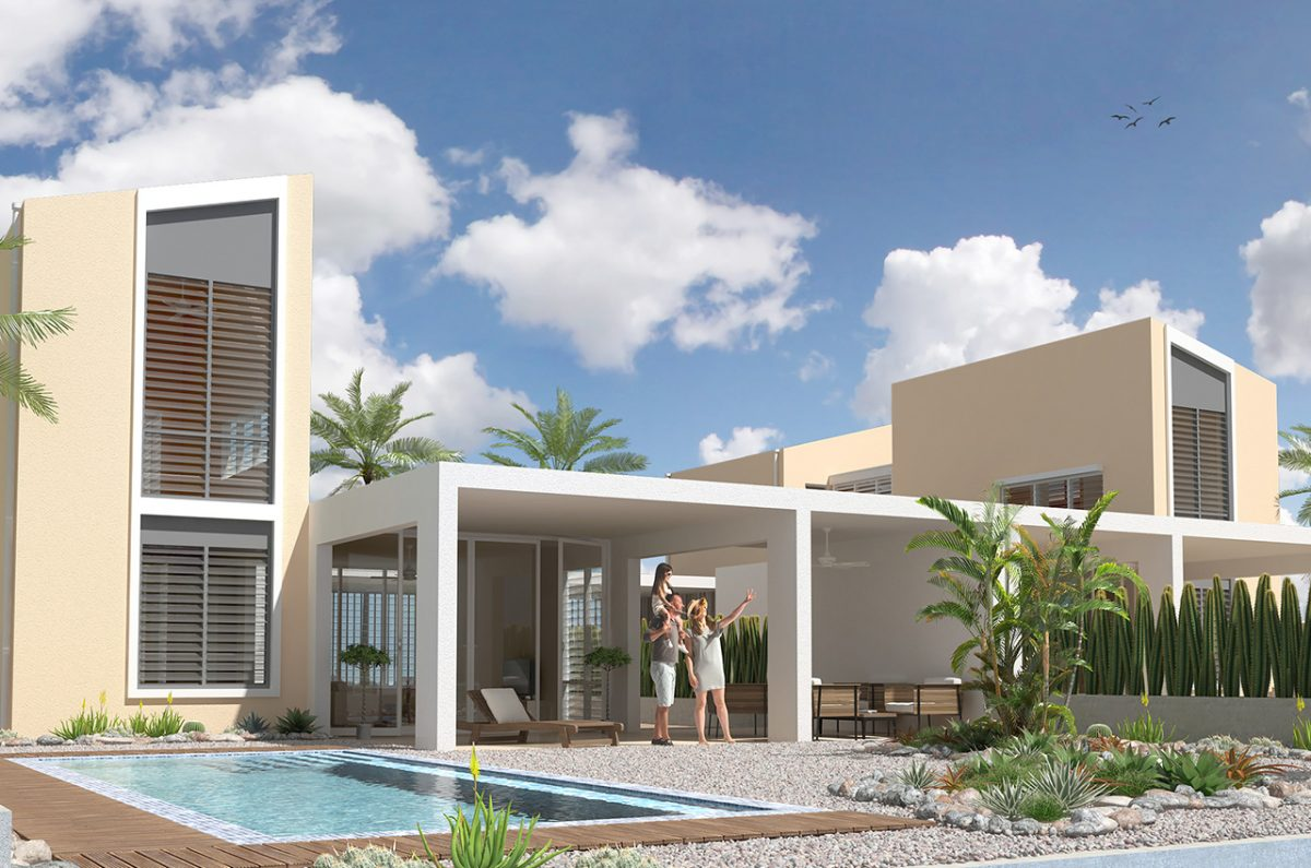 Delfins Beach Resort Bonaire's 6 person villa