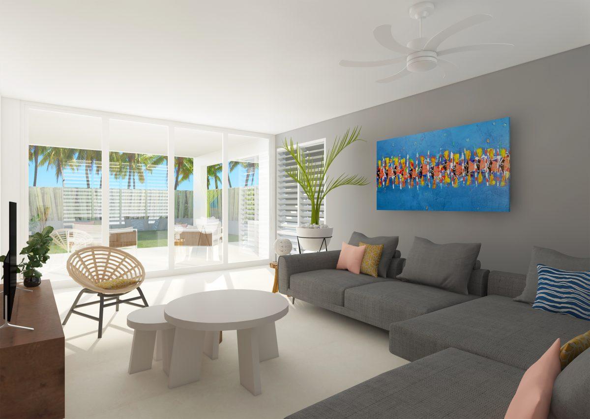Delfins Beach Resort Bonaire's 8 person villa