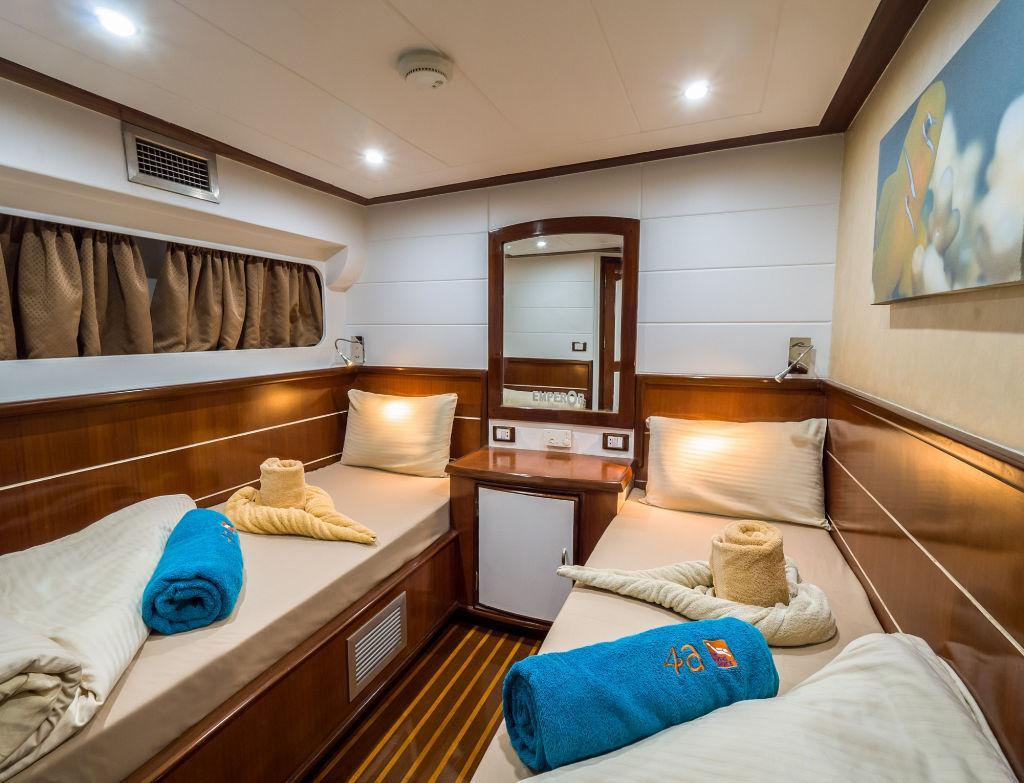 Emperor Asmaa Lower Deck Twin Cabin