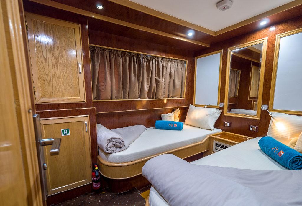Emperor Asmaa Upper Deck Twin Cabin