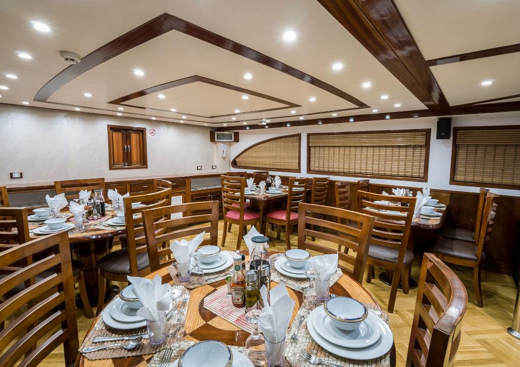 Emperor Asmaa Dining Area