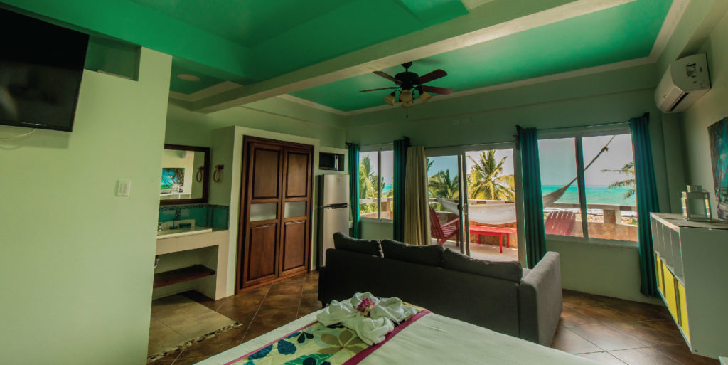 Island Magic Beach Resort's Premium Ocean View Room 3rd floor