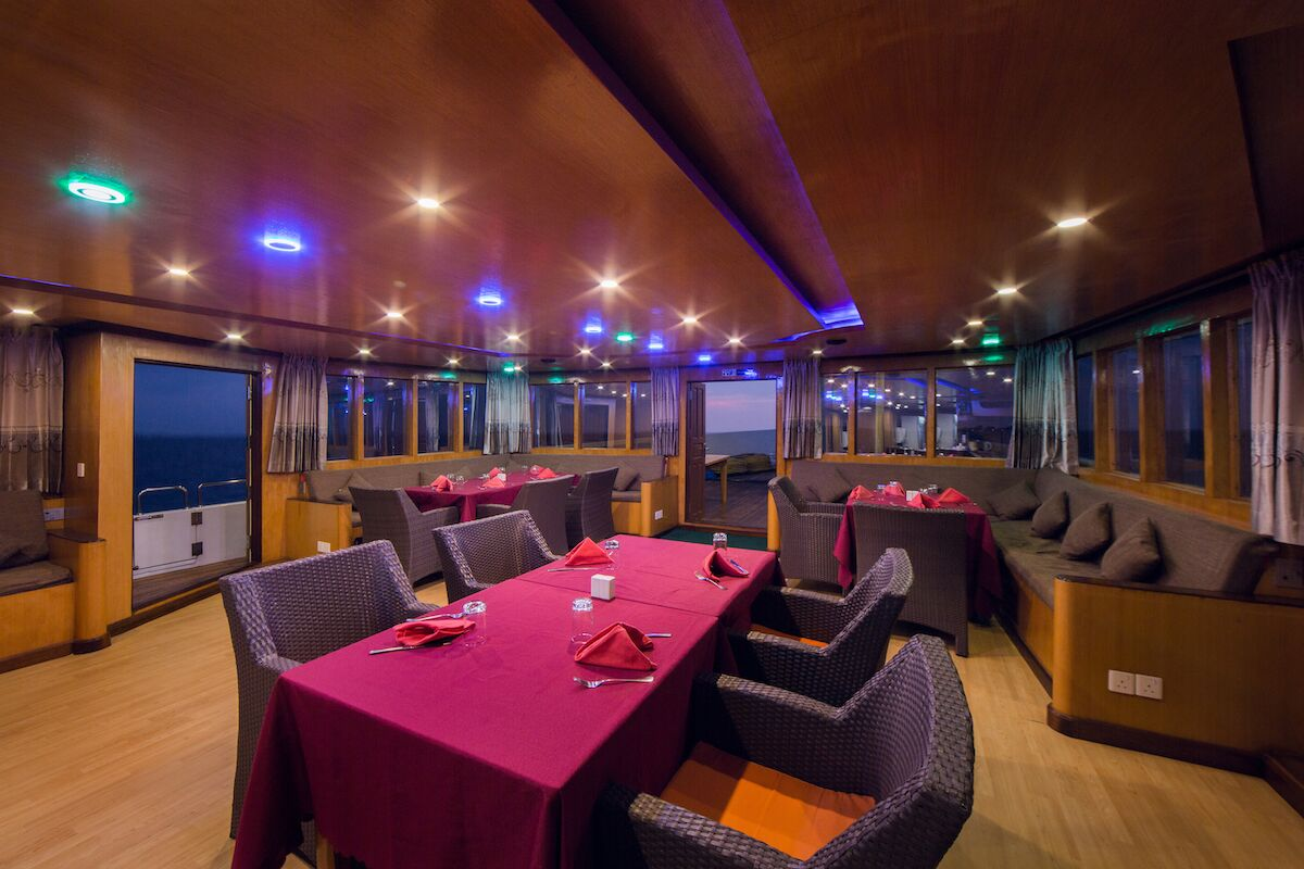 Maldives Explorer Restaurant