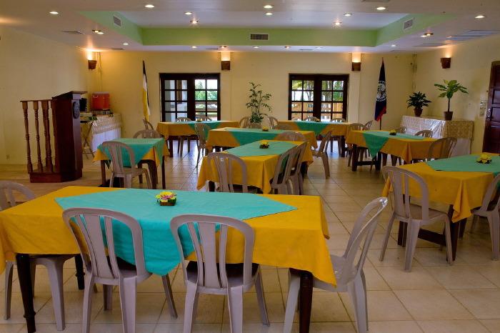 Pelican Beach Resort Dangriga's Coconut Palm meeting room