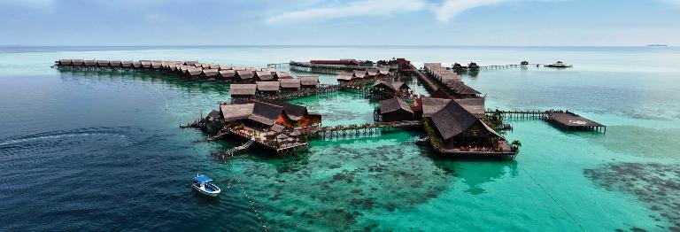 Mabul Resorts - Sipadan Water Village, Malaysia
