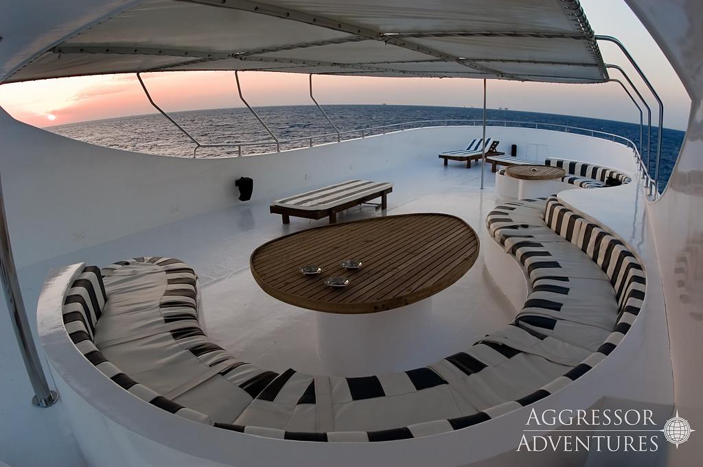 Socorro Aggressor's sun deck