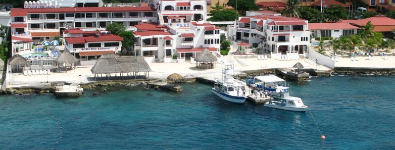 Scuba Club Cozumel dive resort, Mexico