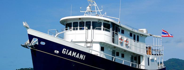 MV Giamani liveaboard